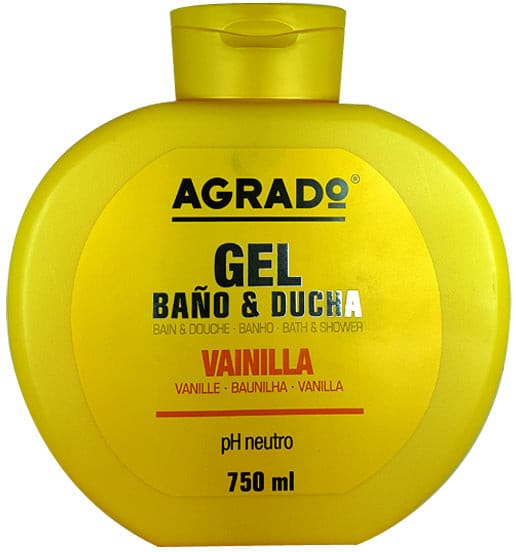 Gel Douche Vanille Agrado 750 ml