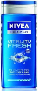 Gel Douche Vitality Fresh Nivea For Men 250ml