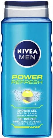 Gel Douche de Soin Power Refresh Nivea For Men 250ml