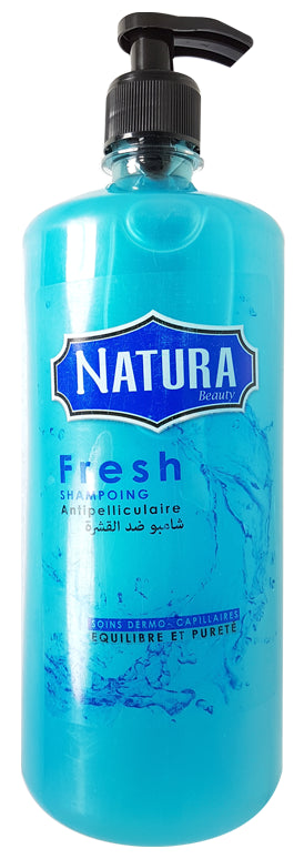 Shampooing Anti-Pelliculaire Fresh Natura 1L (100% Naturel)