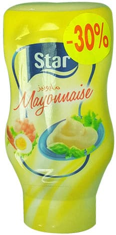 Mayonnaise Flacon Star 400g