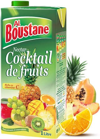 Jus Nectar Cocktail De Fruits Al Boustane  1L