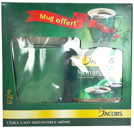Café En Grains Soluble Jacobs 95g + Mug Offert
