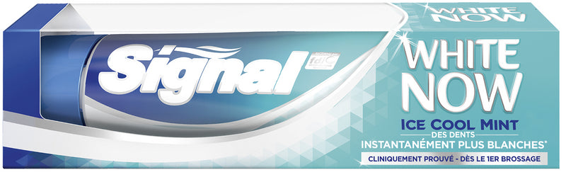 Dentifrice White Now Ice Cool Menthe Signal 75ml