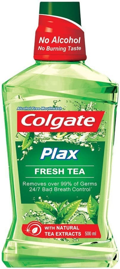 Bain de Bouche Plax Fresh Tea No Alcohol Colgate 250ml