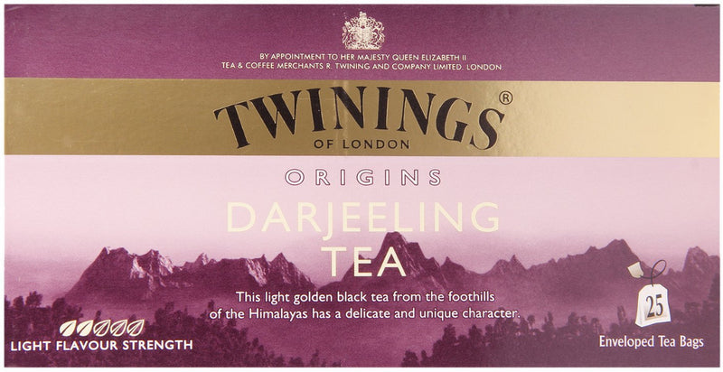 Thé Pur Darjeeling Twinings of London 25 Sachets