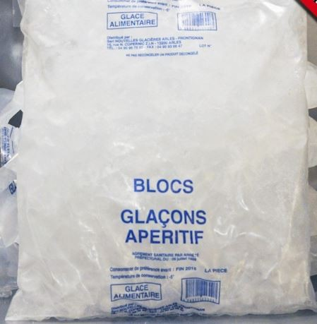 GLACONS ALIMENTAIRE 1KG