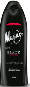 Gel De Douche Black Energy Magno 550ml