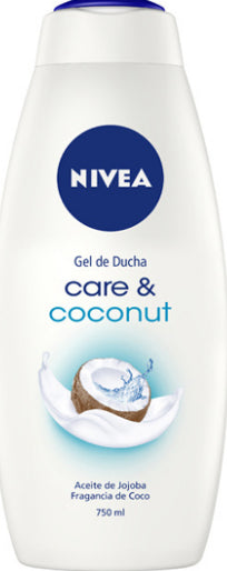Gel De Douche Creme Care & Coconut Nivea 750ml