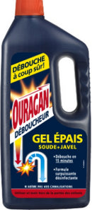 WC NET ENERGY GEL DEBOUCHEUR (OURAGAN)1L