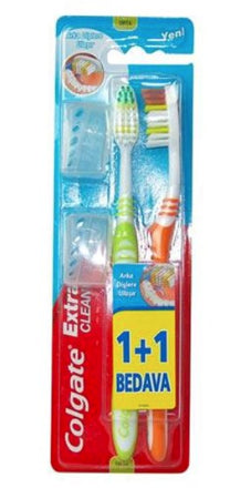 Brosse à dents Extra Clean Colgate 1 + 1