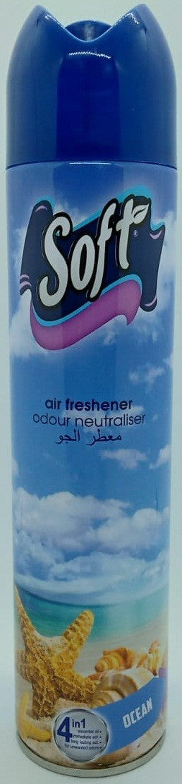 Air freshener  Odour neutraliser Ocean Soft 300 ml