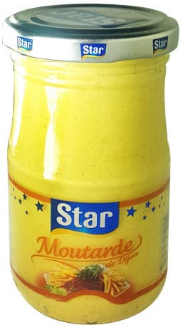 Moutarde de Dijon Star 200g