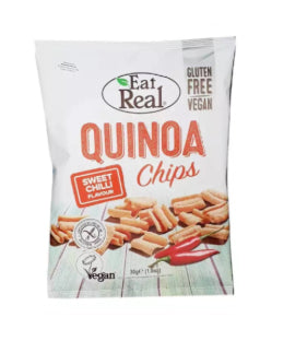Chips Sweet Chilli Quinoa Sans Gluten Eat Real 30g