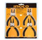 "Set De 4 Pinces Circlips En Acier De Carbone INGCO Dimensions : 7""/180mm"