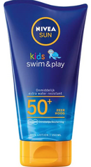 Lait Protecteur Swim& Play FPS 50+ Nivea Sun Kids 150 ML