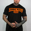 Mens Harley Tee - Black/Orange