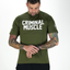 Mens Diamond Tee - Army Green