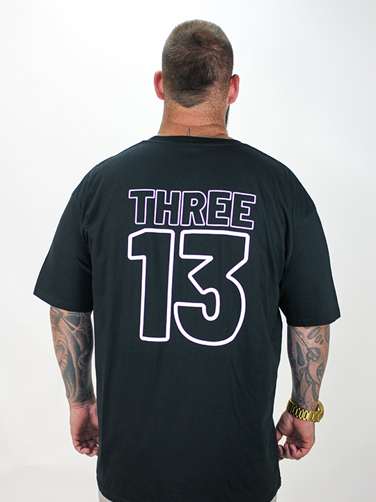 Mens THREE13 Tee - Black