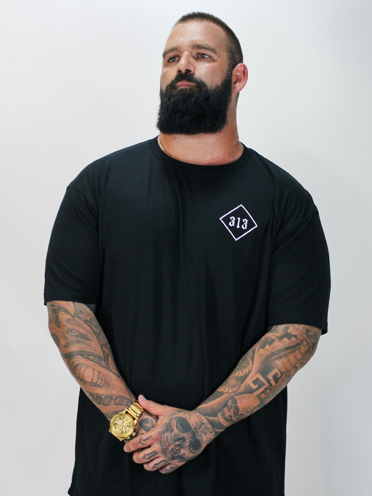 Mens Big-C Tee - Black