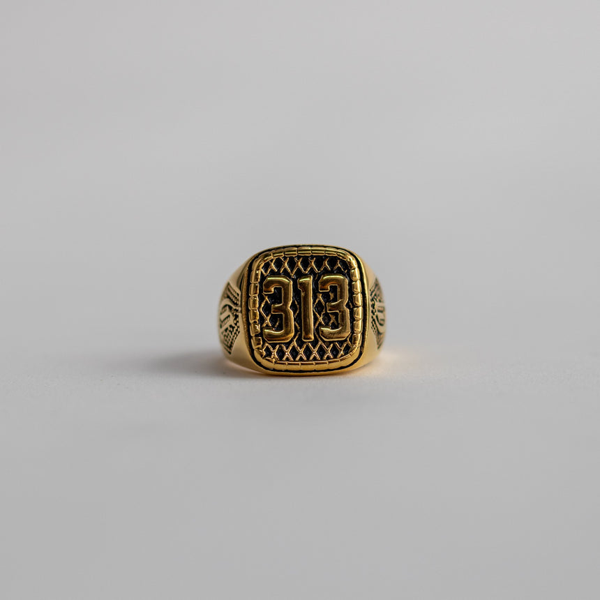313 Ring - Gold
