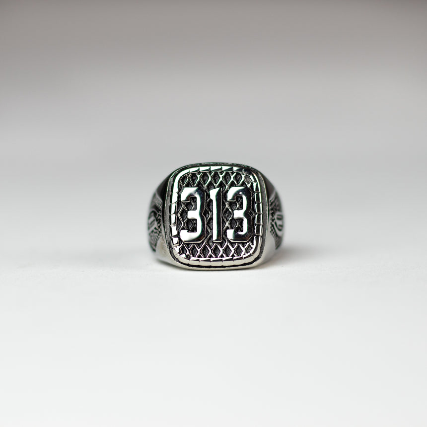 313 Ring - Silver