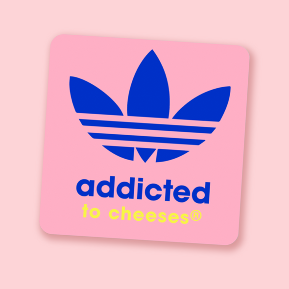 Addicted To Cheeses® Sticker