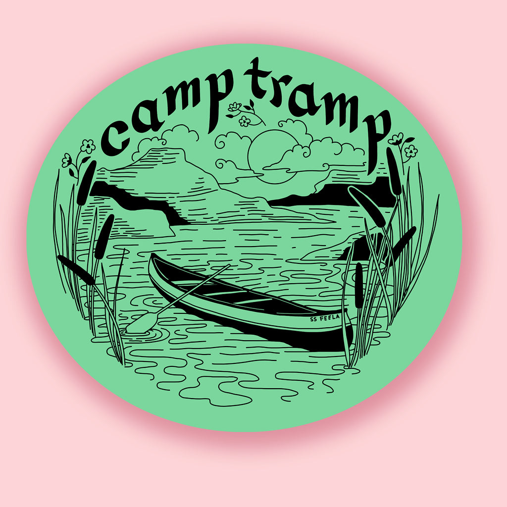 Camp Tramp Sticker