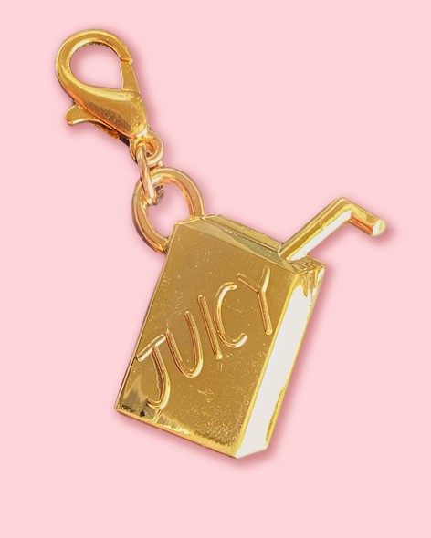 Juicy Juice Box Charm