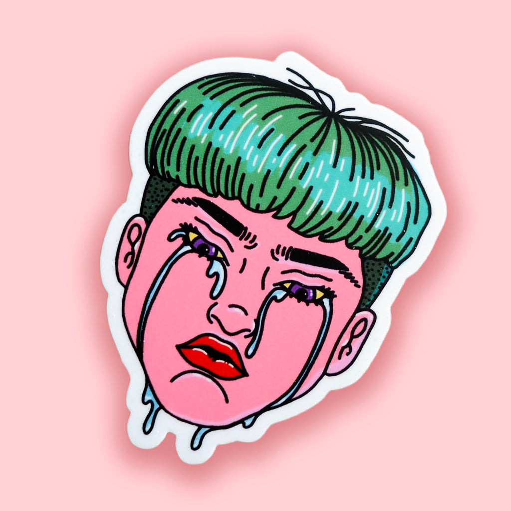 Cry Me a Sticker