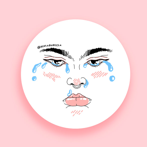 Cry Team Sticker