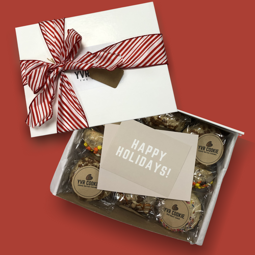 Large Holiday Giftbox | 15 Cookies - YVR Cookie