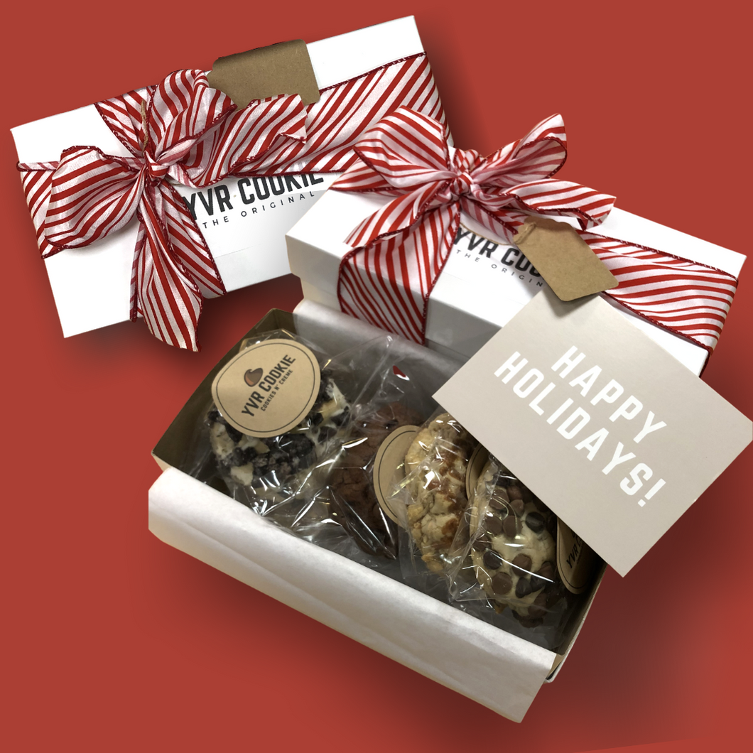 Holiday Gift Box | 5 Cookies - YVR Cookie