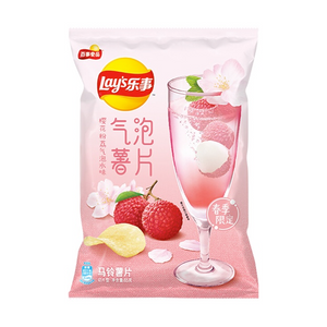 Lay's Cherry Blossom Lychee Sparkling Water