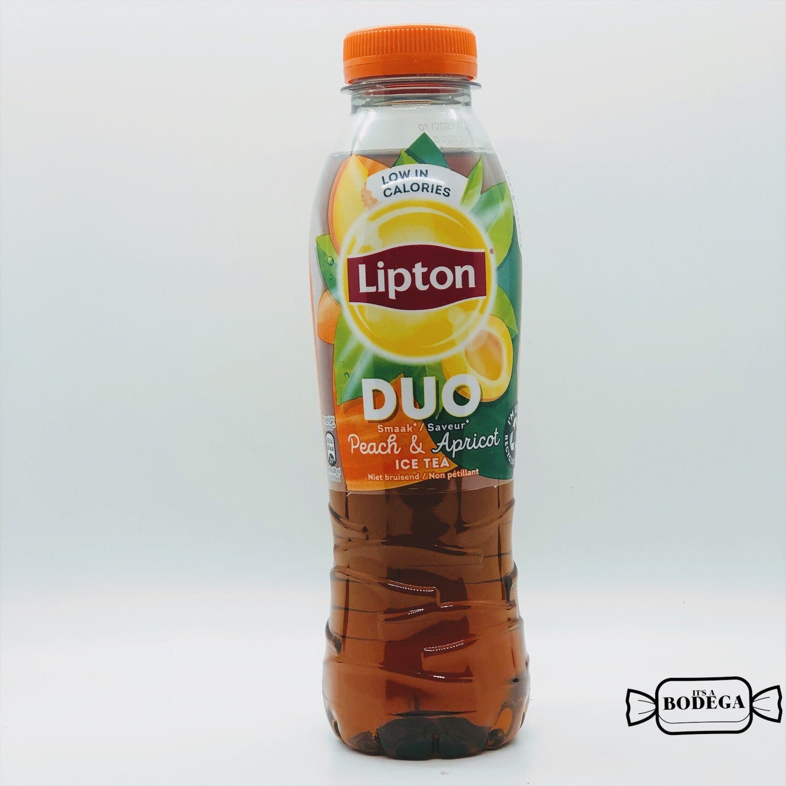 Lipton Peach Apricots Green Ice Tea (Belgium)