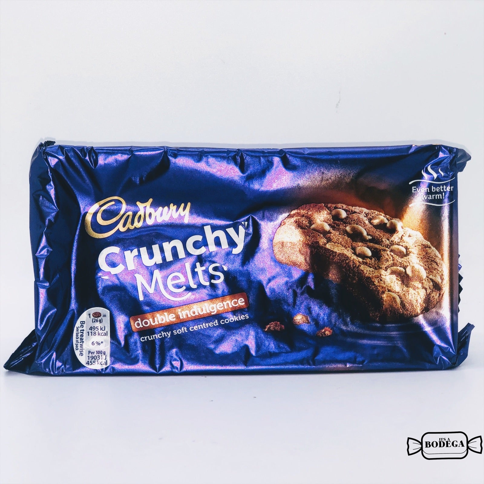 Cadbury Crunchy Melts Double Indulgence Chocolate Chip Cookies