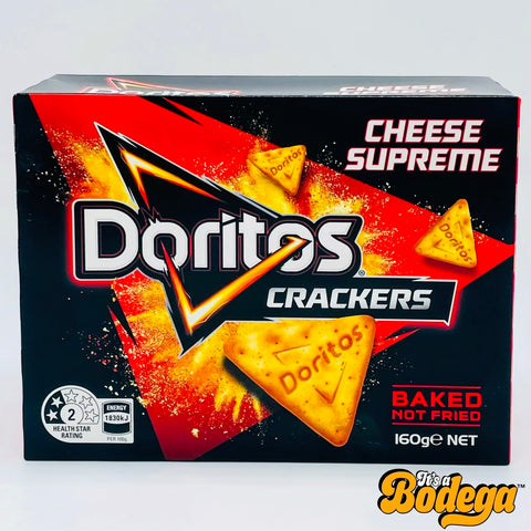 Doritos Crackers Cheese Supreme (Australia)