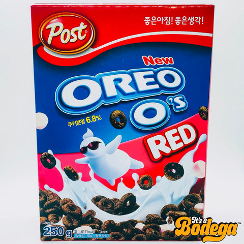 Oreo O's Red Cereal (Korea)