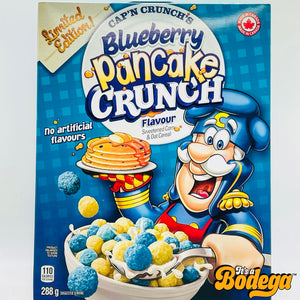 Cap 'N Crunch Blueberry Pancake Crunch Cereal (Canada)