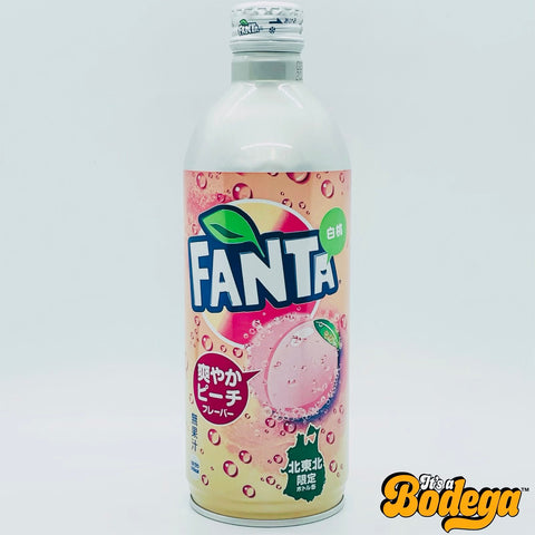 Fanta White Peach Aluminum (Japan)