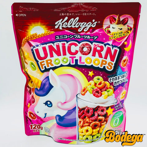 Kellogg's Unicorn Froot Loops (Japan)
