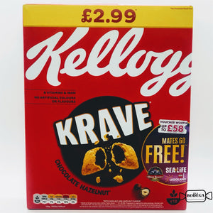Kellogg's Krave Chocolate Hazelnut Cereal