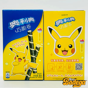 Oreo x Pokemon Pikachu Wafer Roll Vanilla (China)