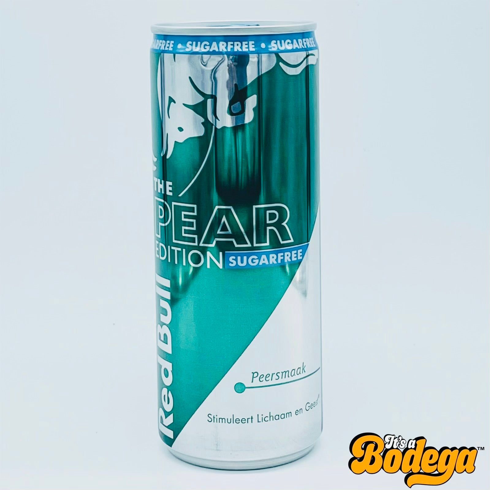 Red Bull Pear Sugarfree (Netherlands)