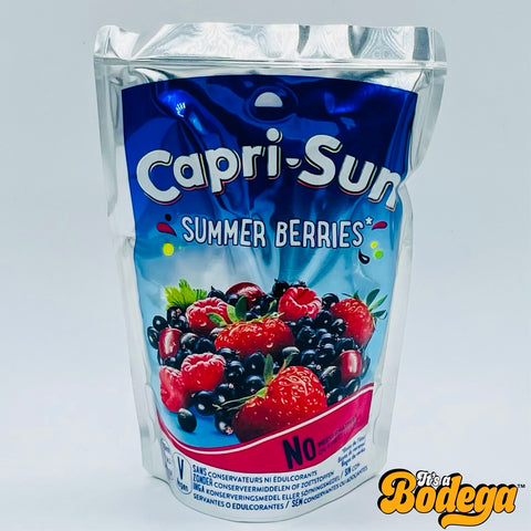 Capri Sun Summer Berries Lemonade (UK)