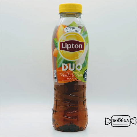 Lipton Peach Pear Green Ice Tea (Belgium)
