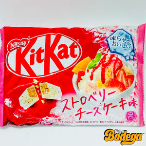 KitKat Strawberry Cheesecake Ice Cream (Japan)