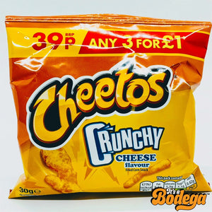 Cheetos Crunchy Cheese (UK)