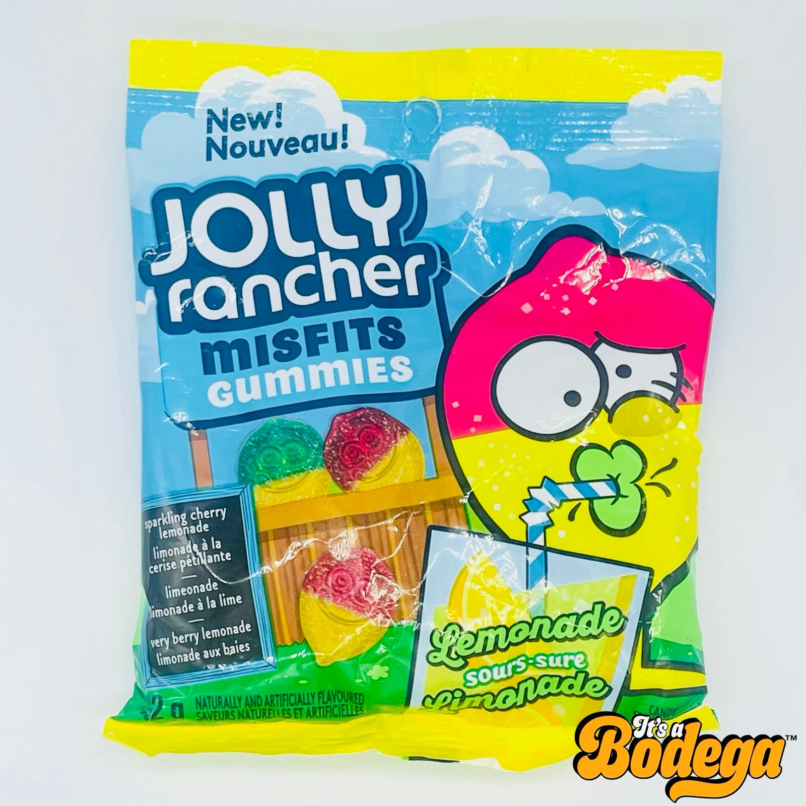 Jolly Rancher Lemonade Misfit Gummies (Canada)