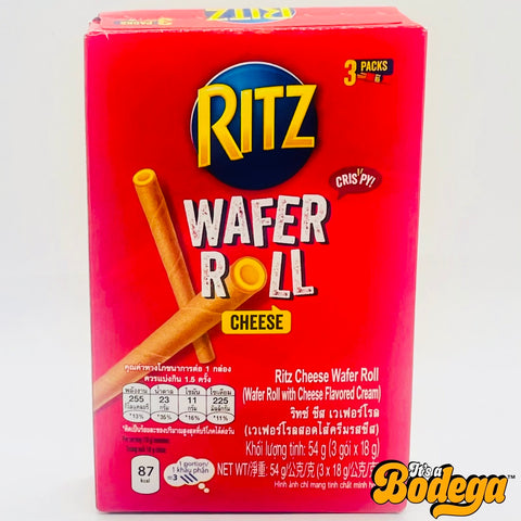 Ritz Wafer Roll Cheese (Thailand)